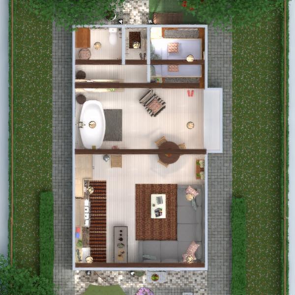 floorplans terraza muebles decoración bricolaje cuarto de baño dormitorio salón garaje cocina exterior reforma estudio 3d