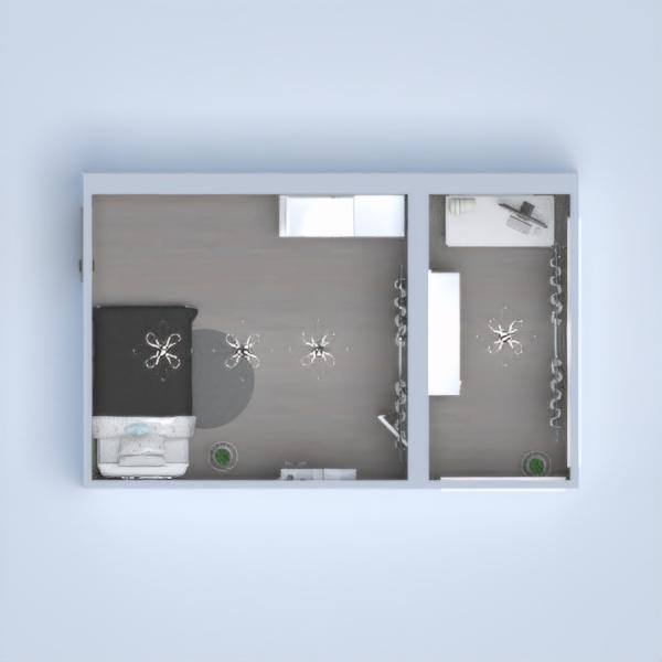 floorplans decorazioni camera da letto cameretta studio architettura 3d