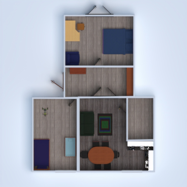 floorplans apartment house furniture decor bathroom bedroom living room kitchen lighting renovation household dining room storage studio entryway 3d
