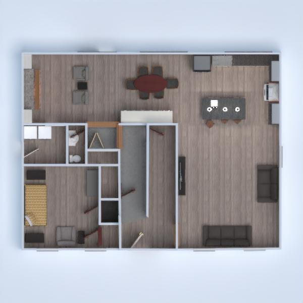 floorplans decoração quarto cozinha reforma sala de jantar 3d