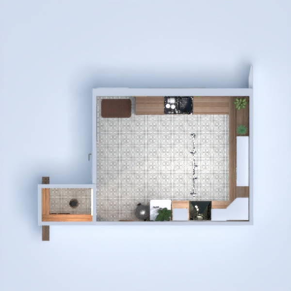 floorplans dom wystrój wnętrz kuchnia oświetlenie remont 3d
