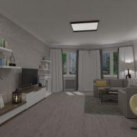 floorplans butas namas baldai dekoras svetainė apšvietimas renovacija 3d