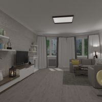 floorplans apartment house furniture decor living room lighting renovation 3d