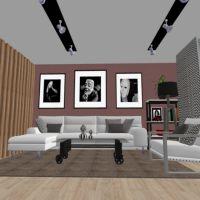 floorplans apartamento mobílias arquitetura 3d