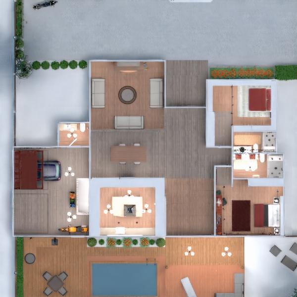 floorplans wohnung haus mobiliar do-it-yourself badezimmer schlafzimmer wohnzimmer garage küche outdoor beleuchtung landschaft esszimmer eingang 3d