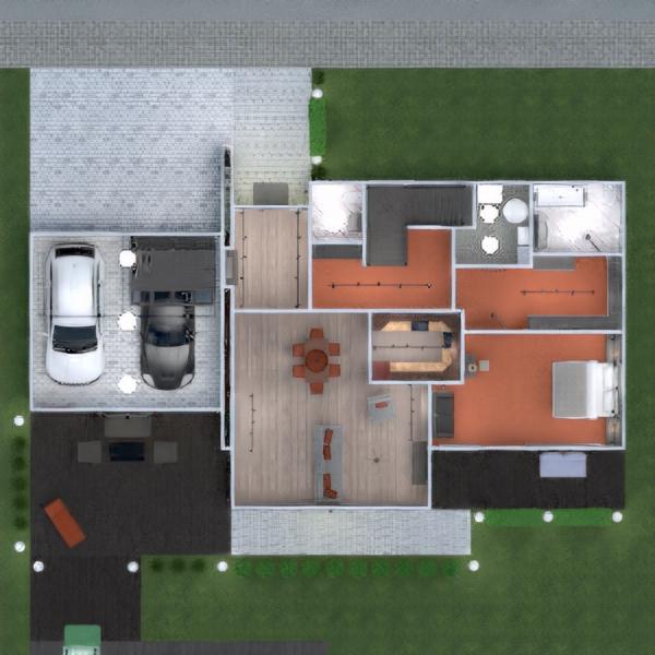 floorplans appartamento casa veranda arredamento bagno camera da letto saggiorno garage cucina esterno cameretta illuminazione paesaggio sala pranzo architettura vano scale 3d