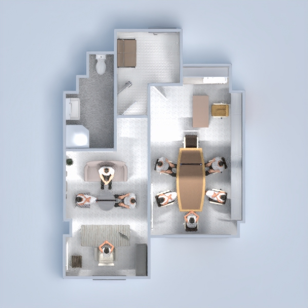 floorplans apartment decor office studio 3d
