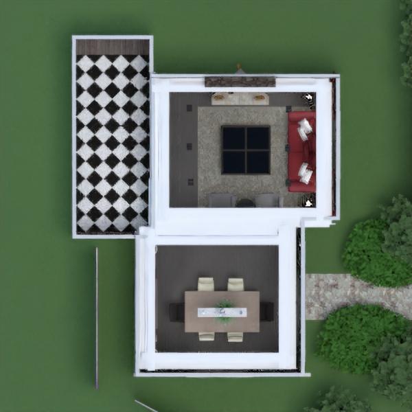 floorplans wohnung haus mobiliar dekor wohnzimmer küche beleuchtung renovierung haushalt esszimmer lagerraum, abstellraum 3d