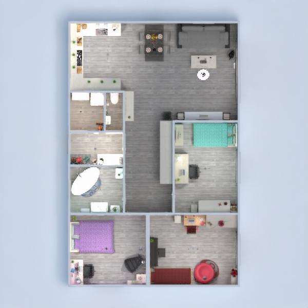 floorplans namas baldai renovacija namų apyvoka 3d