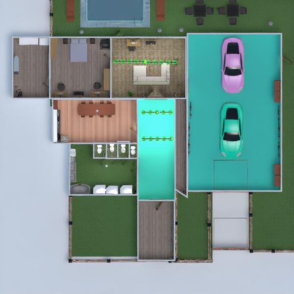 floorplans casa veranda arredamento decorazioni camera da letto 3d