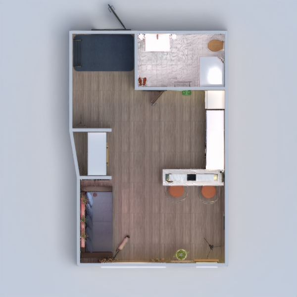 floorplans apartment decor studio 3d