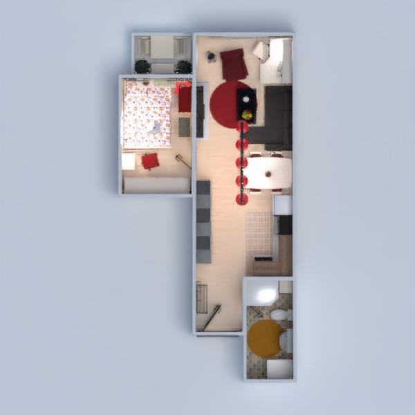 floorplans wohnung terrasse mobiliar dekor badezimmer 3d