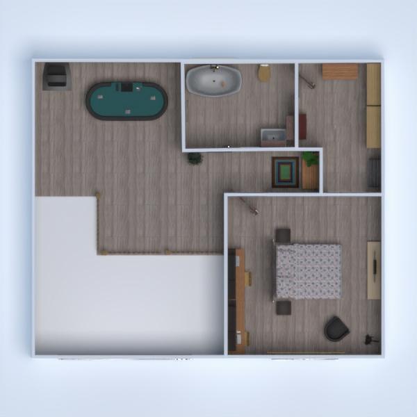 floorplans casa garagem cozinha arquitetura 3d