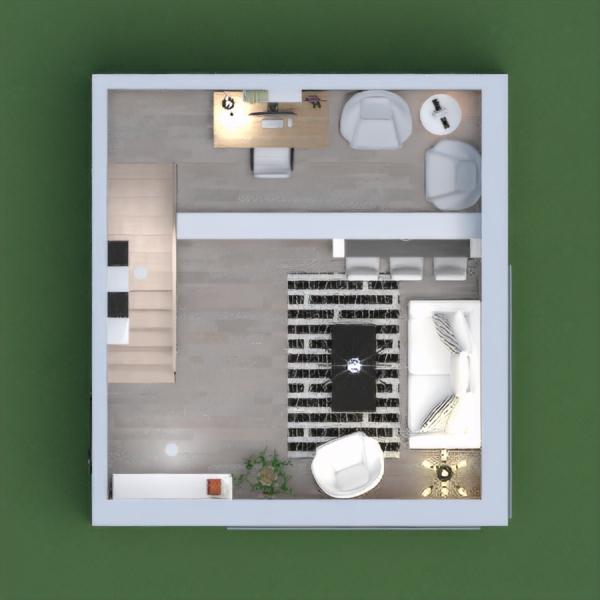 floorplans casa quarto cozinha 3d