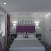floorplans butas namas baldai miegamasis apšvietimas renovacija sandėliukas 3d