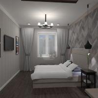 floorplans butas namas baldai dekoras miegamasis apšvietimas renovacija sandėliukas 3d