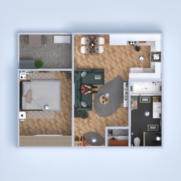 floorplans apartment furniture bathroom bedroom living room kitchen outdoor lighting household dining room architecture storage 3d