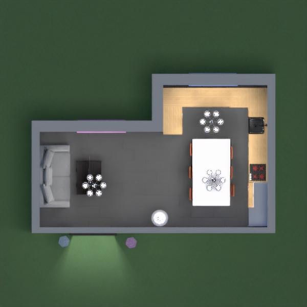 floorplans quarto cozinha 3d