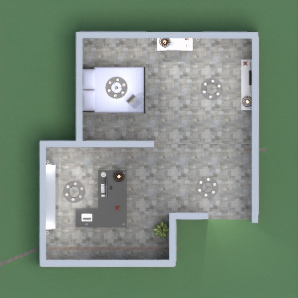floorplans house bedroom kitchen office lighting 3d