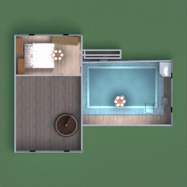 floorplans maison décoration garage extérieur chambre d'enfant 3d