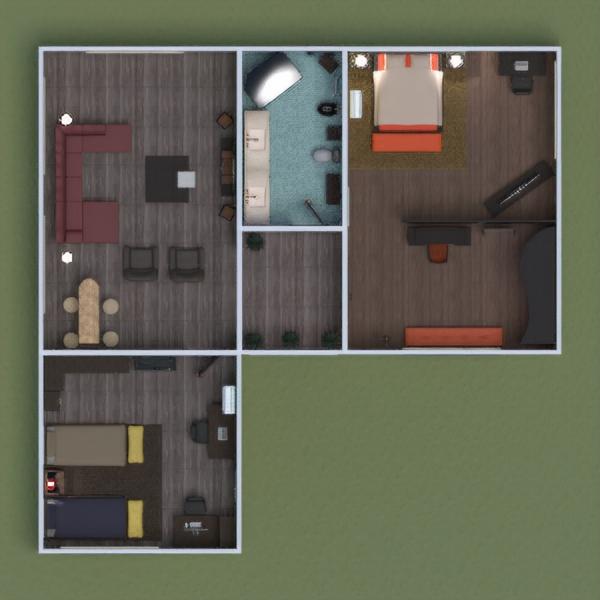 floorplans meble wystrój wnętrz zrób to sam łazienka sypialnia pokój dzienny garaż kuchnia gospodarstwo domowe jadalnia wejście 3d