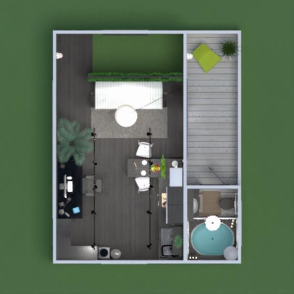 floorplans dom meble łazienka pokój dzienny garaż kuchnia biuro oświetlenie jadalnia mieszkanie typu studio wejście 3d