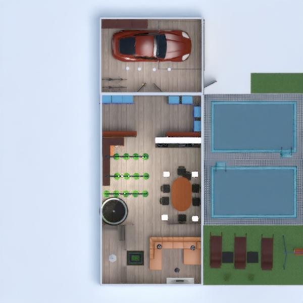 floorplans terrace household architecture 3d