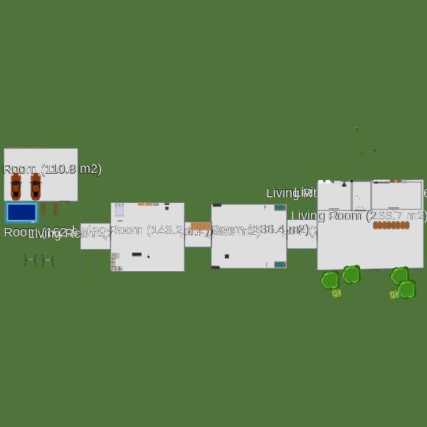 floorplans house furniture bathroom living room 3d