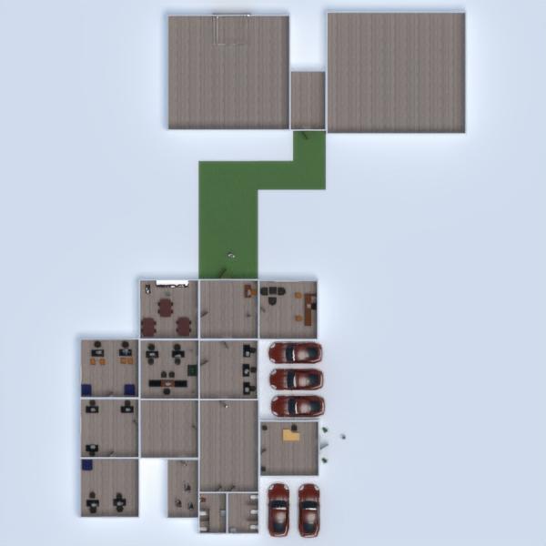 floorplans office architecture storage 3d