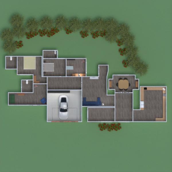 floorplans dom sypialnia pokój dzienny pokój diecięcy gospodarstwo domowe 3d