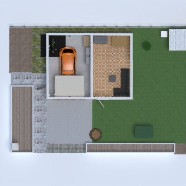 floorplans terrace diy garage outdoor 3d