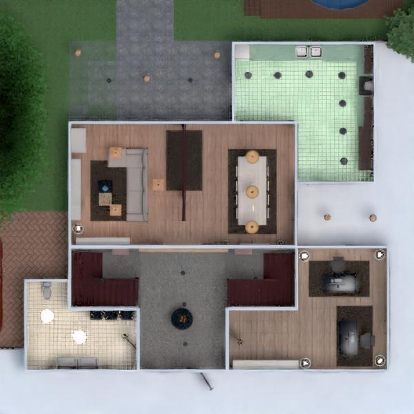 floorplans terrasse dekor do-it-yourself badezimmer schlafzimmer küche outdoor büro beleuchtung landschaft haushalt esszimmer lagerraum, abstellraum 3d