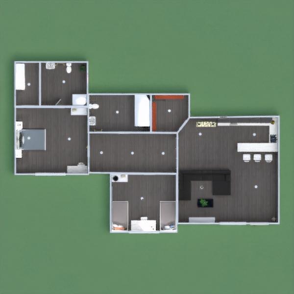 floorplans apartamento decoración cuarto de baño dormitorio habitación infantil 3d