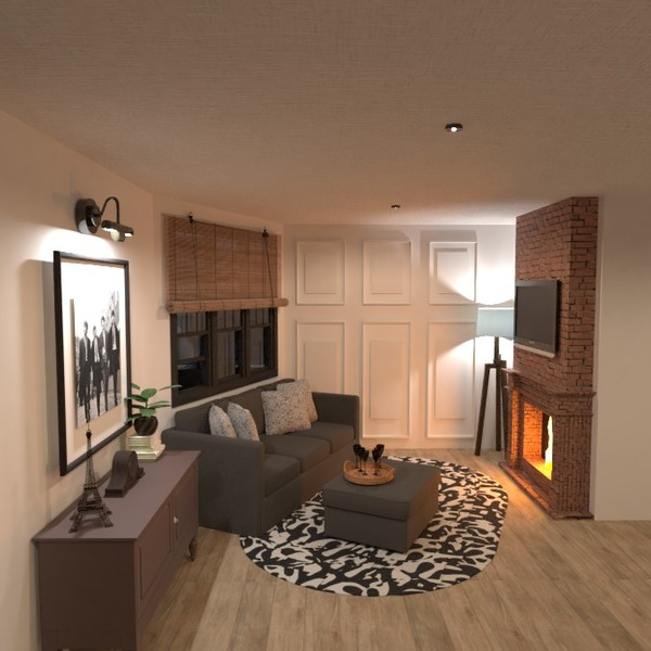 floorplans appartamento veranda cucina esterno architettura 3d