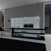 floorplans apartment furniture living room kitchen lighting dining room architecture 3d