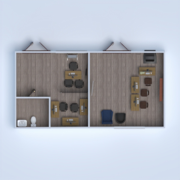 floorplans apartment furniture renovation studio 3d