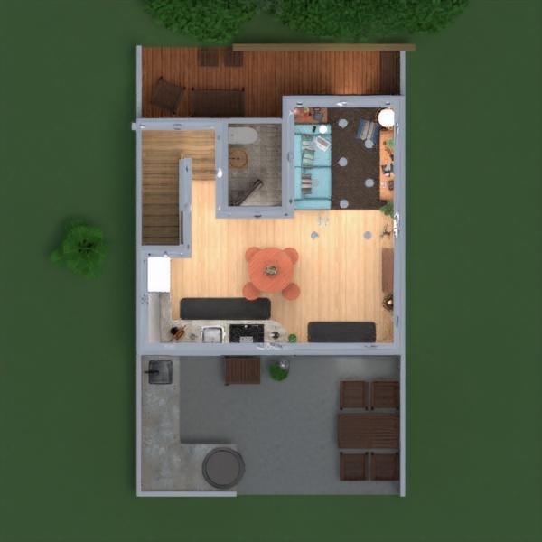 floorplans appartamento casa decorazioni 3d