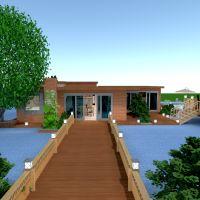 floorplans apartamento casa varanda inferior mobílias 3d