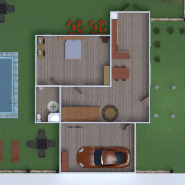 floorplans maison terrasse décoration maison 3d