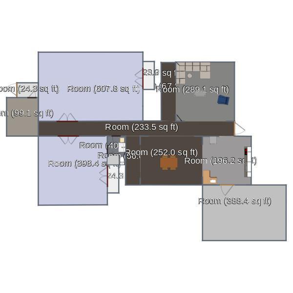 floorplans дом декор сделай сам гостиная кухня 3d