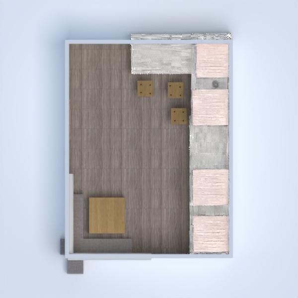 floorplans butas namas pasidaryk pats virtuvė valgomasis 3d