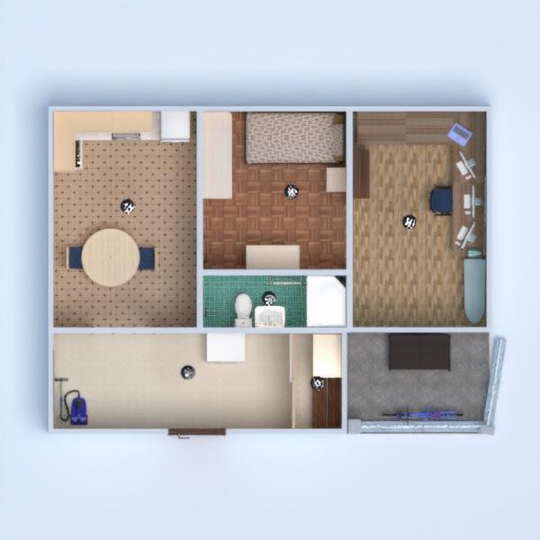 floorplans butas terasa baldai dekoras pasidaryk pats vonia miegamasis virtuvė biuras apšvietimas namų apyvoka valgomasis аrchitektūra 3d
