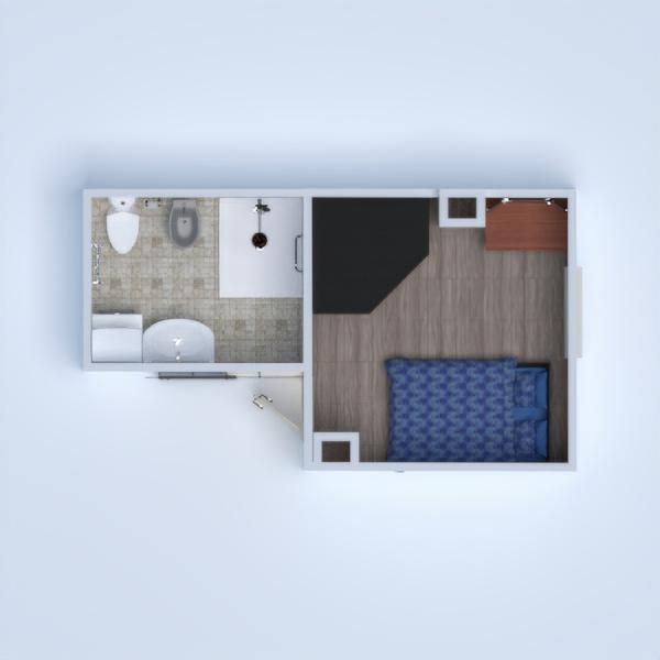 floorplans łazienka sypialnia 3d