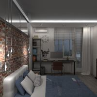 floorplans appartamento monolocale 3d