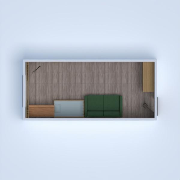 floorplans apartamento utensílios domésticos 3d