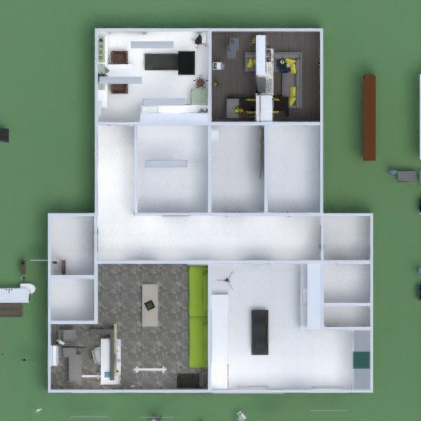 floorplans furniture decor office renovation architecture 3d