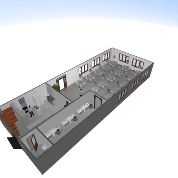 floorplans salle de bains cuisine bureau salle à manger 3d