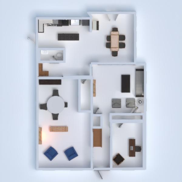 floorplans casa saggiorno cucina studio 3d