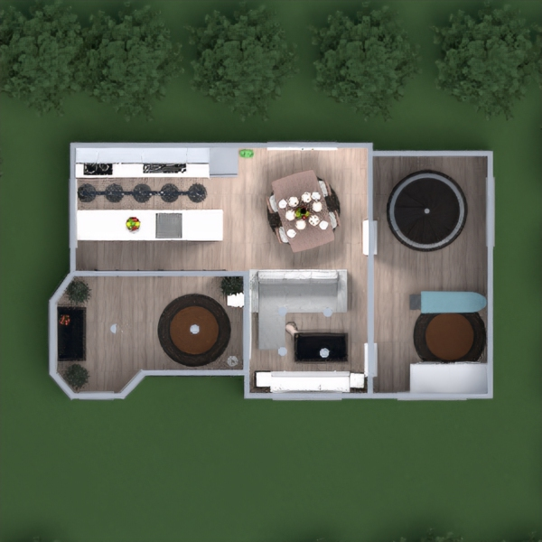 floorplans house furniture decor bathroom bedroom living room kitchen landscape 3d