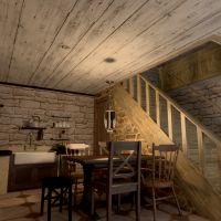 floorplans house furniture bedroom kitchen dining room 3d
